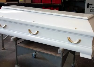 Farbig 6-268 weiß hochglanz Griffe P 6000