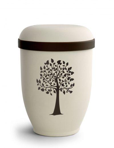 2054 Samton crème, Lebensbaum, braun
